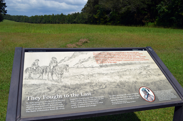 205th Anniversary Observed at Horseshoe Bend National Military Park